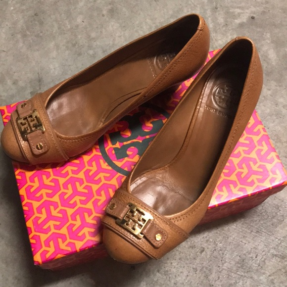 0f746659a86a3 Tory Burch Shoes - Tory Burch Natalya Mid Wedge Shoes